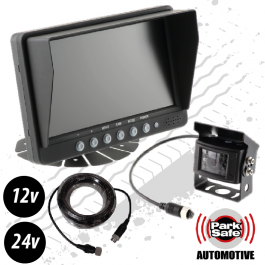 "Reversing Camera Kit, 7"" Screen, Heavy Duty External Camera, 12v / 24v"