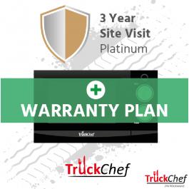 TruckChef Platinum Warranty Plan - 3 year Site Visit