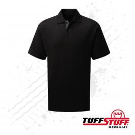 TuffStuff 134 Pro Work Polo Shirt (Black)