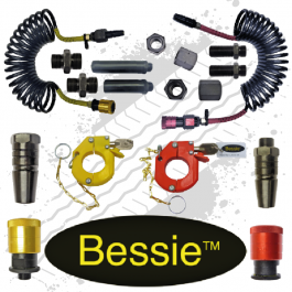 Bessie Spanner Less Full Universal Airline Commercial Kit - Large Coil