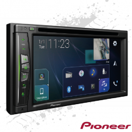 "Pioneer Touchscreen 6.2"" Headunit With Built in Truck Sat Nav, WiFi, Bluetooth, Apple CarPlay, USB"