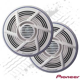 Pioneer 16cm Dual Cone Truck Outside Speakers Marine Grade 100 Watt - Pair