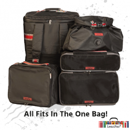 Complete Truckers Luggage System Including HangPac, MOrg, SOrg, VacPAc - All You Need!