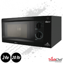 TruckChef 24v Truck Microwave. In Cab Oven. Wide Version.