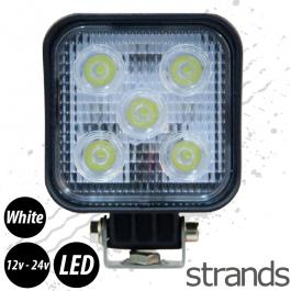 LED Mini Spotlight 12 / 24v, Super Bright Ice White Light