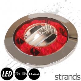 Rear LED Brake/Indicator 24 LED 10-30v 2.5m