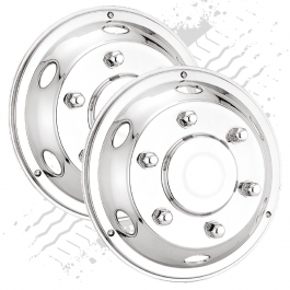 "Deluxe 17.5"" Front Wheel Trims (Pair)"