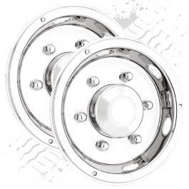 "Deluxe 17.5"" Rear Wheel Trims (Pair)"