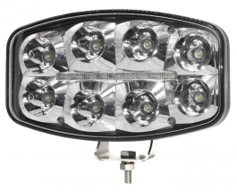 "Strands Delta 9"" 80 Watt LED Driving Light with DRL 12-48 Volts E-Approved Complete with 3 year warranty."