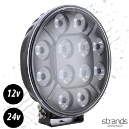 Strands THETA Driving light 9″, LED, position light 12-24V DC, 120W - E-approved