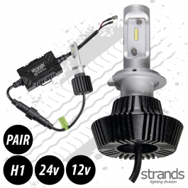 CLEARANCE LED Headlight Conversion Kit, H1, 12/24v, Fully E Approved