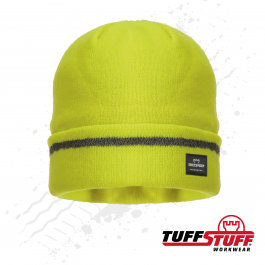 TuffStuff 412 Reflective Beanie (Yellow)