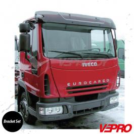 Iveco Eurocargo 05/2003 Acrylic Sunvisor Bracket Set - Bracket Set Only