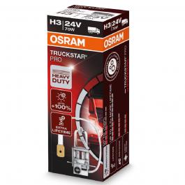 Osram 24 Volt H3 70 Watt Truckstar Pro Headlight Bulb - 1750lm