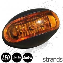 Strands Amber LED Marker Light