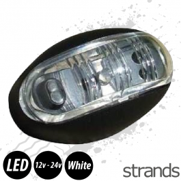 Strands White LED Marker Light