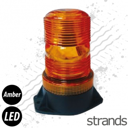 Strands Mini Flashing Amber LED Beacon