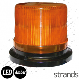 Strands LED Flashing Amber Beacon