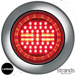 Strands Universal IZE LED Tail/Brake Light 10-30V DC, IP67, E-approved. - 3 Year Warranty