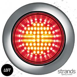 Strands Universal IZE LED Tail/Brake & Dynamic Left Indicator Light 10-30V DC, IP67, E-approved. - 3 Year Warranty