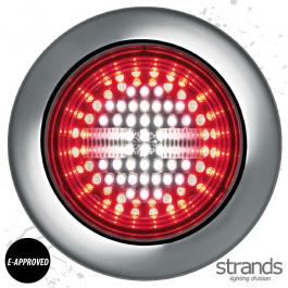 Strands Universal IZE LED Tail/Fog & Reverse Light 10-30V DC, IP67, E-approved. - 3 Year Warranty