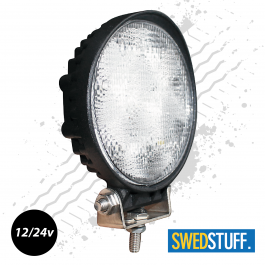 SuperBright, 1200 Lumen! Round LED Worklamp 12/24v.