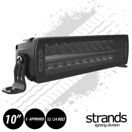 "PRE ORDER - JUNE 2020 DELIVERY Strands SIBERIA Double Row LED Bar 10"" 12/24 Volt E-Approved"