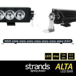 Alta LED Bar, 1059mm, Angel Eye Side Lights and Main Beam, 12/24v, ECE R10