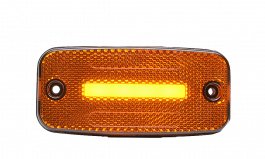 Strands Amber LED Side Marker Light SLD One Line 12/24 Volts