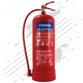 9Kg Powder Fire Extinguisher
