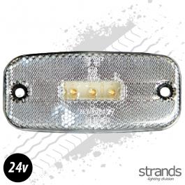 LED Side Marker Light - White