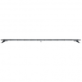 Strands Monitum Black Slim 144w LED Amber Light Bar 1850.1mm, 12/24 Volt E-Approved - 3 Year Warranty