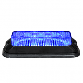 CLEARANCE Blue High Power Strobe 12-33V 4 LEDs x3W IP68 ECE/R65 Approved