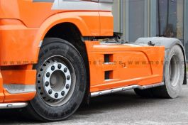 DAF XF 106 Side Bars. 2014 Onwards. 3800mm. Pair. With LED's and Pre-Wired.