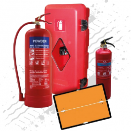 Fire & Hazard Kit