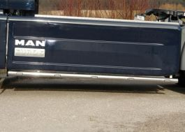 MAN TGX Euro 5 Side Skirt Bars. 3600mm Wheelbase. Pre-Wired. With LED's. (Pair).