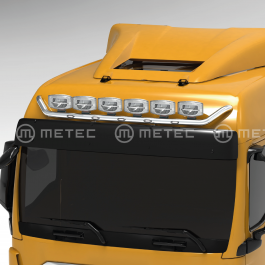 MAN TGX 20- GM Cab, Roof / Visor Light Bar. Pre-wired for 6 lamps with 5 x LED's in the bar.