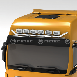 MAN TGX 20- GX Cab, Roof / Visor Light Bar. Pre-wired for 6 lamps with 5 x LED's in the bar.