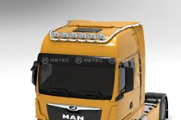 MAN TGX 20- GX Cab, Roof Light Bar. Pre-wired for 6 lamps with 5 x LED's in the bar.