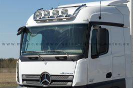 Mercedes Arocs StreamSpace 2.3m and 2.5m. Roof Light Bar. 2011 Onwards. Pre-Wired. 4 Lamp Fixings.