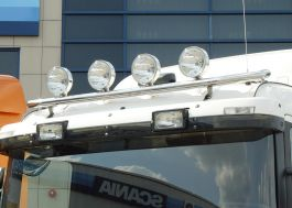 Scania R Series Roof Light Bar. 2009 Onwards. Low Roof Cab. Pre Wired.