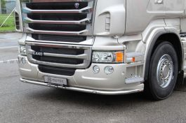 Scania R Series Under Bumper Light Bar. Up to 2013, Low Skirt. With LED's