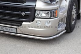 Scania R Series Under Bumper Light Bar. 2014 Onwards, Low Skirt.
