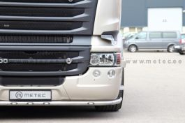 Scania R Series Under Bumper Light Bar. 2014 Onwards, Low Skirt. With White And Amber LED's