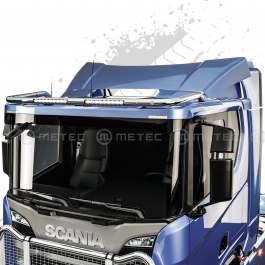 Scania R Series 2016- Low Roof Light Bar With Built In LED Bars