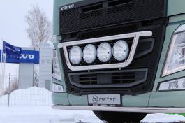 Suitable for Volvo FH 4 Front Light Bar. 2013 Onwards. Pre Wired for 4 Lamps.