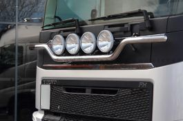 "Suitable for Volvo FH 4 ""Plough"" Style Light Bar. 2013 Onwards. Pre Wired for 4 Lamps."