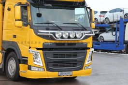 "Suitable for Volvo FM 4 ""Plough"" Style Light Bar. 2014 Onwards. Pre Wired for 4 Lamps."