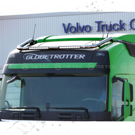 Volvo FH 13- Globetrotter Roof Light Bar With Built In LED Bars