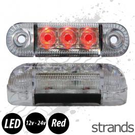 Strands Side Marker / Position Lamp LED (Red)